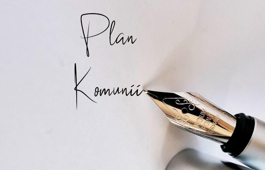 Zapisujemy plan Pierwszej Komunii na kartce